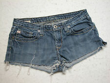 Women's Big Star Maddie 19 Sz 28XL Cutoff Jean Shorts Distressed (MEASURE 30 IN