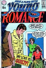 YOUNG ROMANCE #164 1970-DC COMICS-WHEELCHAIR-ALEX TOTH-NICE!!-NO RESERVE!!