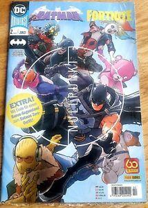 Batman/Fortnite 2   - -       COMIC  mit Extras für das  Game ! Zero Wing   OVP