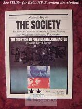 Saturday Review October 1972 SOCIETY ALAN LEVY ANGUS DEMING SUSAN SONTAG