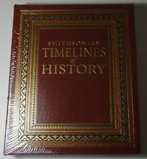 New listing Smithsonian Timelines of History *Sealed* Easton Press Leather Bound Hc Book