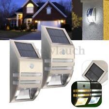 Autres éclairages et lampes détecteur de mouvement acier