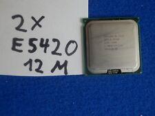 2 Stück  Intel Xeon E5420 2.50 GHz 12 M