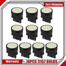 New listing 10Pcs White 3157 68Smd Led Tail Brake Light Bulbs T25 3057 3457 6000K lamps