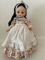 "Vintage Madame Alexander Argentina Girl Doll 8"" Bent Knee"