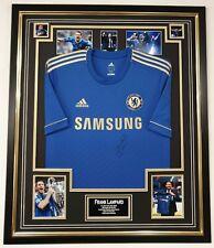 Frank Lampard Signed Chelsea Shirt Autographed Jersey Display AFTAL DEALER Cert