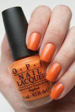 OPI Coca-Cola ORANGE YOU STYLISH! Orange Creme Nail Polish Lacquer .5oz C33 New!