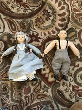 VINTAGE Sue Johnson Artist PAIR Dolls 1991 Limited Ed. Numbered Signed