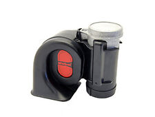 Stebel Nautilus Compact 12volt Truck/Air Horn Black with Bass sound 133dB