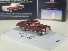Sonderpreis: Wiking C&I Mercedes-Benz Klub Danmark Mercedes 250 SE Coupé weinrot