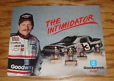 1990 Chevrolet Lumina Dale Earnhardt Nascar Racing Sales Sheet Brochure 90 Chevy