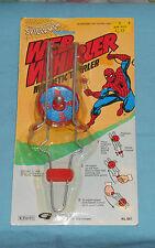 vintage Gordy THE AMAZING SPIDER-MAN WEB WHIRLER MOC rack toy