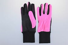 LADIES PINK ALL WEATHER WARM GOLF GLOVES POLAR FLEECE FREE UK P+P SMALL NEW