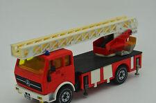 RARE !! Mercedes Truck Fire Engine Siku 2819 Feuerwehrdrehleiter