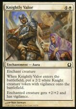 4x Knightly Valor | NM | Return to Ravnica | Magic MTG