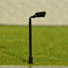 25 pcs N scale Metal Model Lampposts 12V bulbs made Street Lights #045Z Black