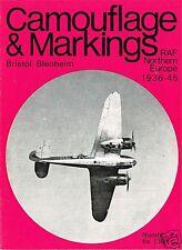 CAMOUFLAGE & MARKINGS RAF WORLD WAR II: No.7 BRISTOL BLENHEIM/ DOWNLOAD