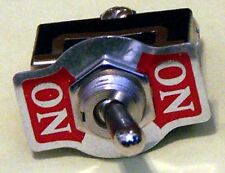 Toggle Switch SPDT Momentary One Sides 20 AMP @ 125 VAC K112