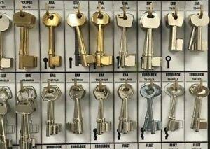Steel & Brass Mortice Blanks Union Yale-Legge-Era-Chubb-Asec-Securefast-5 lever