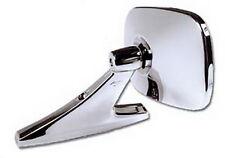 "CIPA Mirrors 18000 Car Mirror Universal Oblong 5.25x3.75"" Chrome Left Or Right"