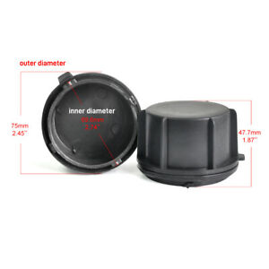 Dust Cover Headlight Extension Seal Cap Fit for Mitsubishi Outlander 2018-2019