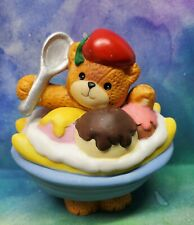 Enesco Lucy and Me Lucy Rigg Bear as banana split