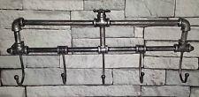 Vintage Estilo Industrial Montado En La Pared Ganchos De Abrigo Rack Clavijas Toallero urbano chic