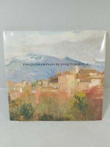 Paisajes De Granada De JOAQUIN SOROLLA 1863 - 1923 Art Paintings Book
