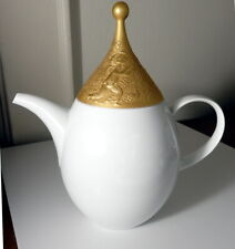 Rosenthal Wiinblad MAGIC FLUTE Gold Sarastro Coffee Pot, Mint/New