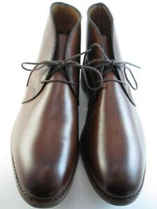 "NEW Allen Edmonds  ""WILLIAMSBURG"" Chukka Boots 10.5 D Chili Made in USA (683)"