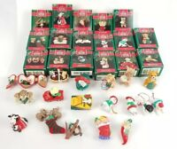 (Lot of 17) Vtg Hallmark Holiday Keepsake Christmas Ornament 1990's Collection