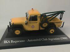 Dépanneuse IKA Baqueano 1960 1/43 Voiture Camion Miniature SALVAT Model Car SA01
