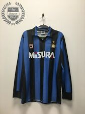 Inter Milan home football shirt 1989/1990 Men's Medium