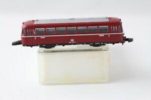 8817 Railbus Trailer Car without Motor Märklin Mini Club Z Gauge Boxed + Top+
