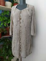 ELISA CAVALETTI Dress Long Sleeve Viscose Size M