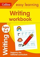 Collins Easy Learning - Writing Workbook Ages 3-5: New Edition