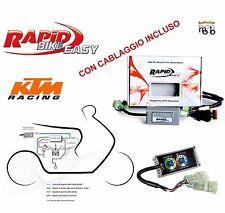 CENTRALINA MOTO RAPID BIKE EASY CON CABLAGGIO KTM 990 ADVENTURE ANNO 2010 2011