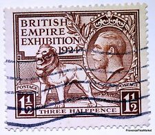 2 TIMBRES ROYAUME UNI ANGLETERRE  N ° 171/2   EXPOSITION EMPIRE  426A51