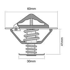 THERMOSTAT FOR TOYOTA LAND CRUISER PRADO 3.0 D-4D KDJ120,KDJ125 (2004-2009)