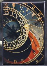 "Astronomical Clock 2"" X 3"" Fridge / Locker Magnet. Prague"