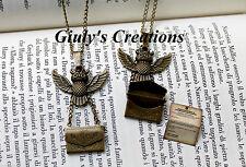 Collana Lettera da Hogwarts con Gufo e lettera di HOGWARTS di HARRY POTTER