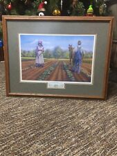 Framed Limited Edition Artist Proof Picture Romberger Klingerstown Pa 15/25 COA