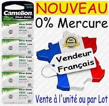 Piles/Battery Oxyde d'Argent 1,55V 0%25 Mercure pour Montre : SR60W G1 364 SR621