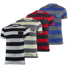 Striped Cotton Short Sleeve Graphic T-Shirts for Men