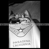 #pha.020824 Photo PORSCHE 550 SPYDER HANS HERMANN CARRERA PANAMERICANA 1953 Car
