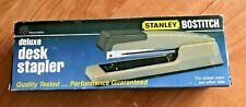 Stanley Bostitch Vintage Model B440 Deluxe Desk Stapler New Old Stock Nos Beige