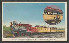 1948* CHICAGO BURLINGTON RTE TRAIN 100 YR CELEBRATION IN CHICAGO DEADWOOD CTR RR