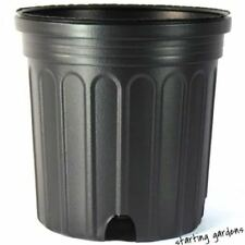 1 Gallon Nursery Pot (Qty. 100), Black Trade Gallon, 6.5 Inch