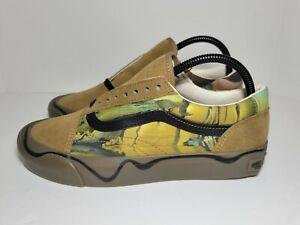 Vans Old Skool Twist Moma Salvador Dali Skate Shoe Brown/Black #VN0A4UUI21Z Sz 8