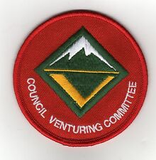 """Council Venturing Committee Position Patch (2008-Cur.), """"Scout Stuff"""" Back, Mint"""
